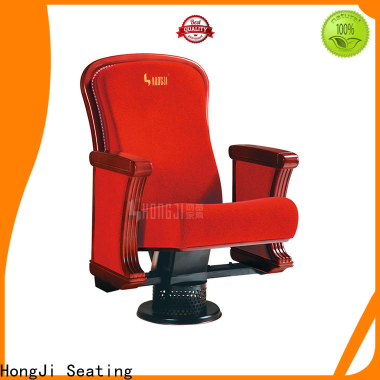 HONGJI real theater seats factory for student