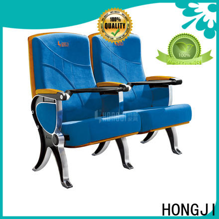 HONGJI leather theater seats factory for cinema