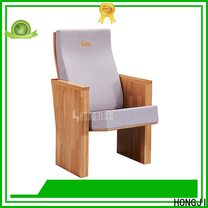 HONGJI high-end affordable theater seating supplier for sale