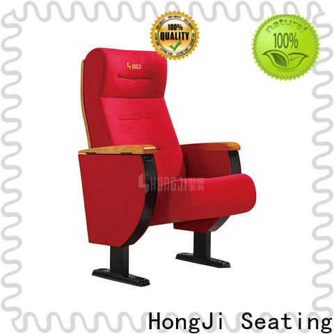 HONGJI 3 seat theater seating manufacturer for sale