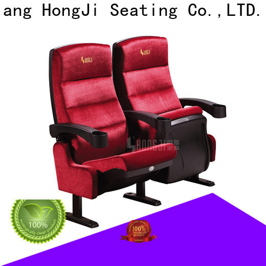 HONGJI fashionable luxury theater seating factory for theater