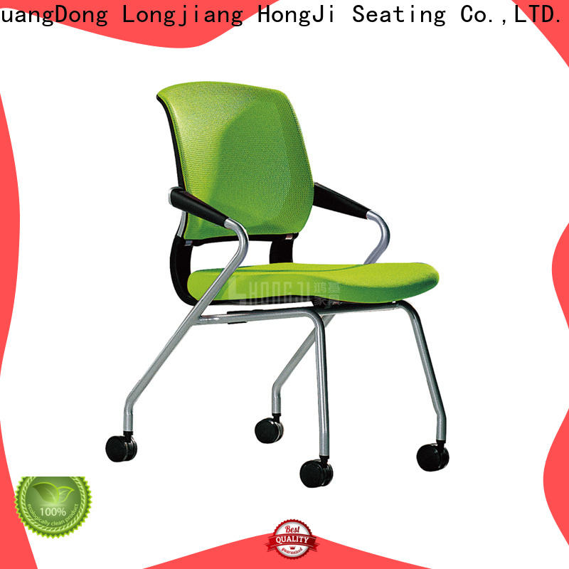 HONGJI folding office furniture chairs supplier for conference