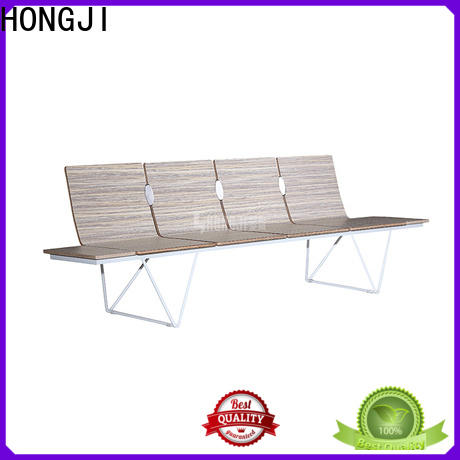 HONGJI h63b4ft reception area chairs design for airport