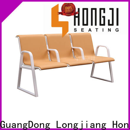 HONGJI h72b3fs hospital waiting chair public seating solution for bank