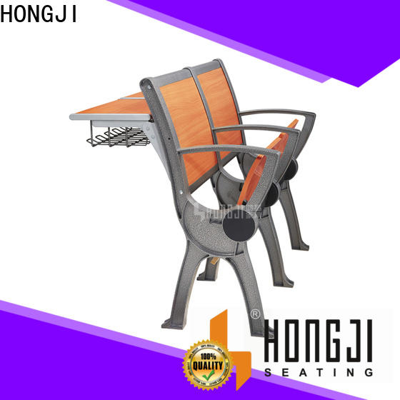HONGJI ISO9001 certified classroom chair with desk supplier for school