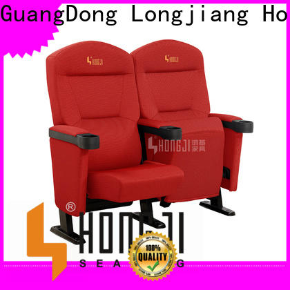 HONGJI elegant home theater chairs factory for importer