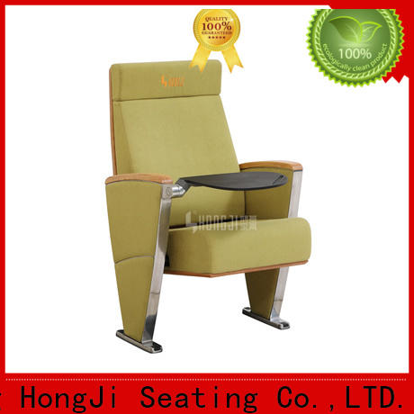 HONGJI outstanding durability stadium theater seating furniture factory for office furniture