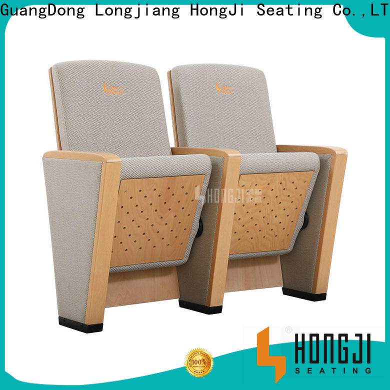 HONGJI excellent auditorium theater seating factory for student