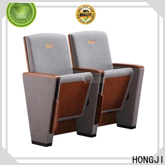 HONGJI custom theater seating manufacturer for student