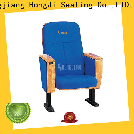HONGJI excellent 2 seat theater chairs supplier for cinema