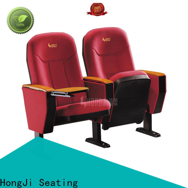 red leather theater chairs high-end supplier for student