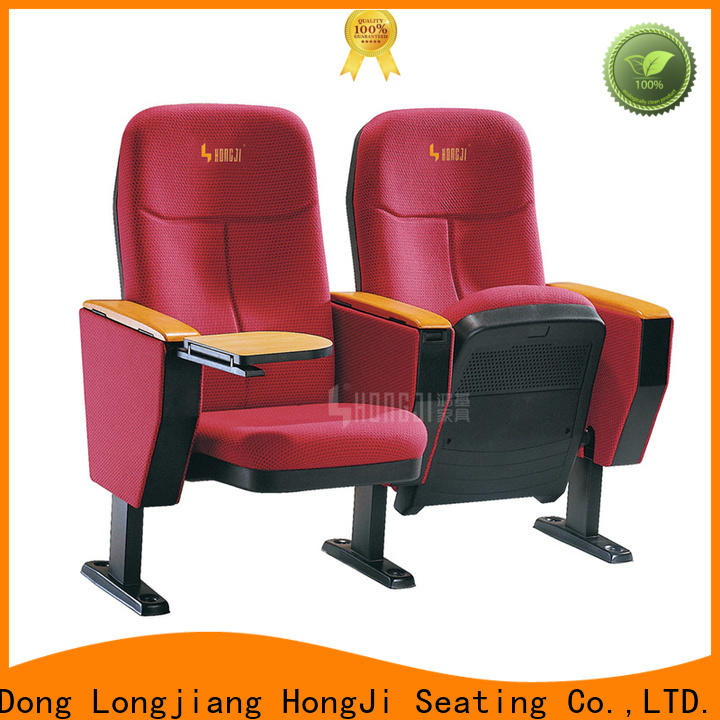 HONGJI newly style church chairs manufacturer for university classroom
