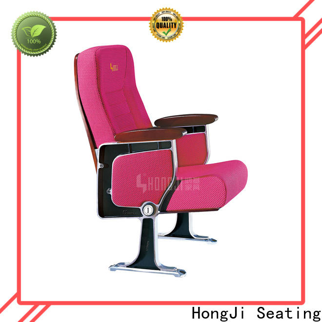HONGJI custom theater seating manufacturer for university classroom
