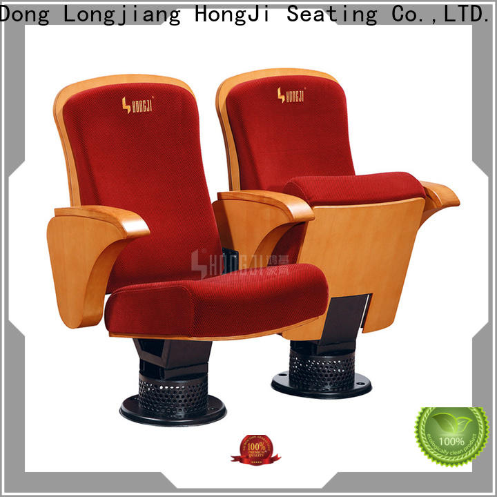 HONGJI newly style 2 seat theater seating manufacturer for cinema