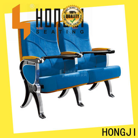 HONGJI excellent 2 seat theater chairs factory for sale