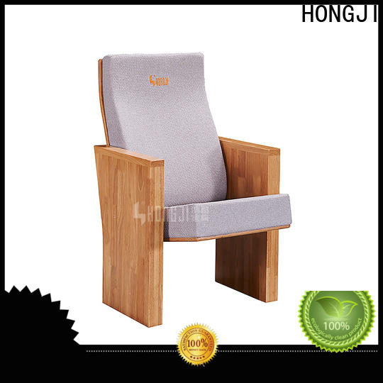 HONGJI newly style commercial theater seating manufacturers manufacturer for sale