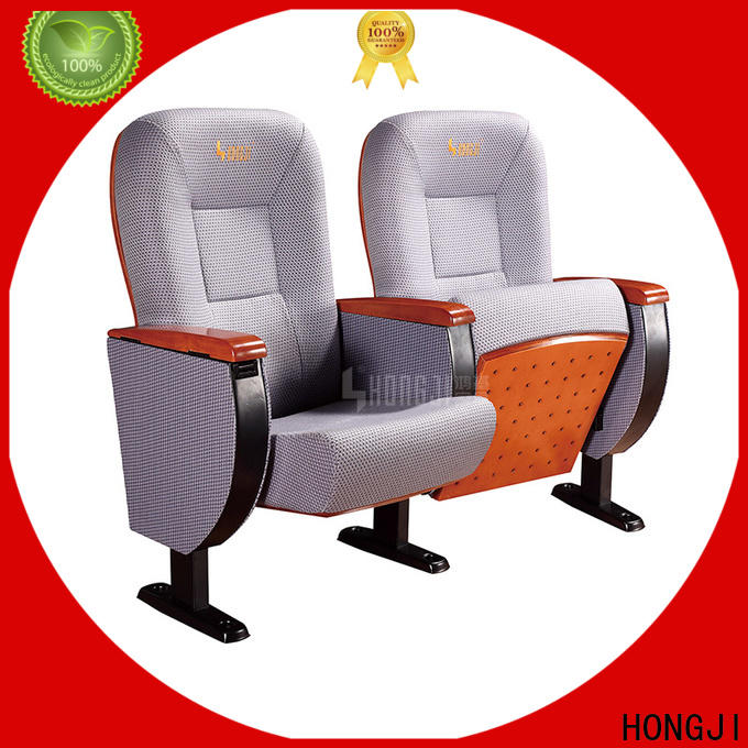 HONGJI outstanding durability auditorium theater seating supplier for office furniture