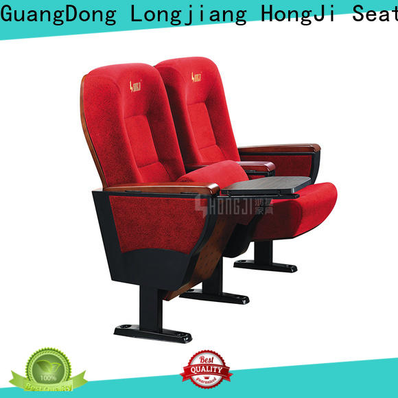 outstanding durability folding auditorium chairs high-end factory for office furniture