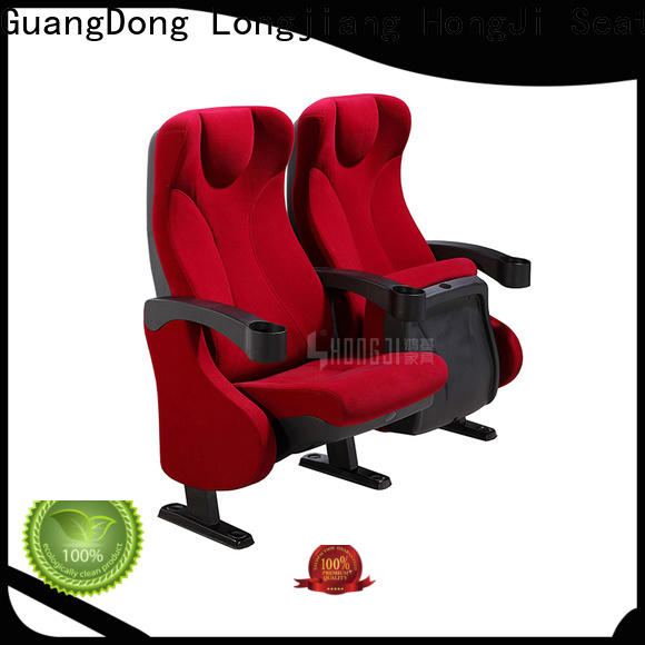 elegant home theater seating 4 seater hj95b factory for importer