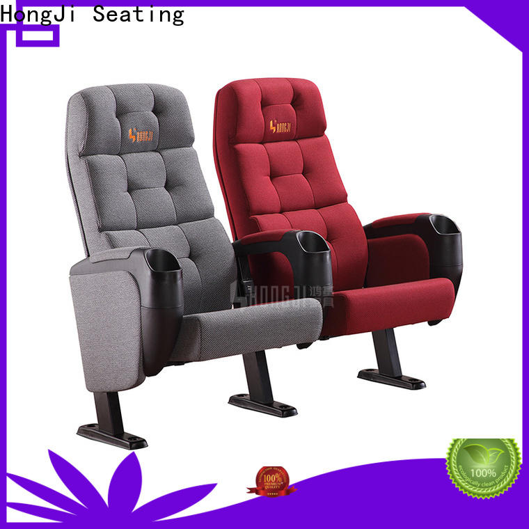 fashionable theater room recliners hj16g factory for cinema