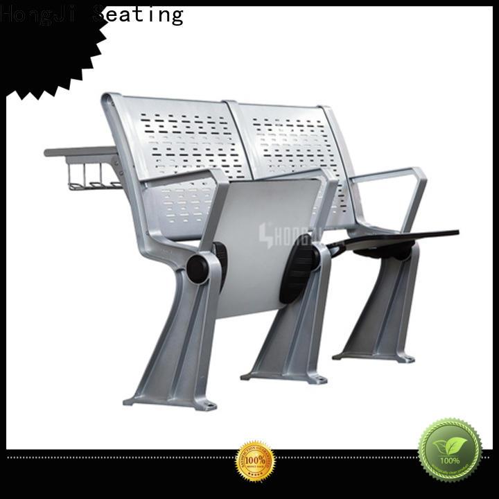 HONGJI ISO14001 certified school desk chair combo manufacturer fpr classroom