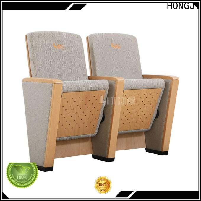 HONGJI outstanding durability stackable church chairs for sale supplier for sale