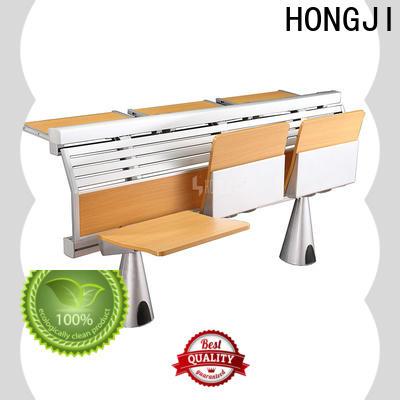 HONGJI ISO14001 certified school seats factory for high school