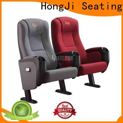 HONGJI fashionable cinema chairs competitive price for theater