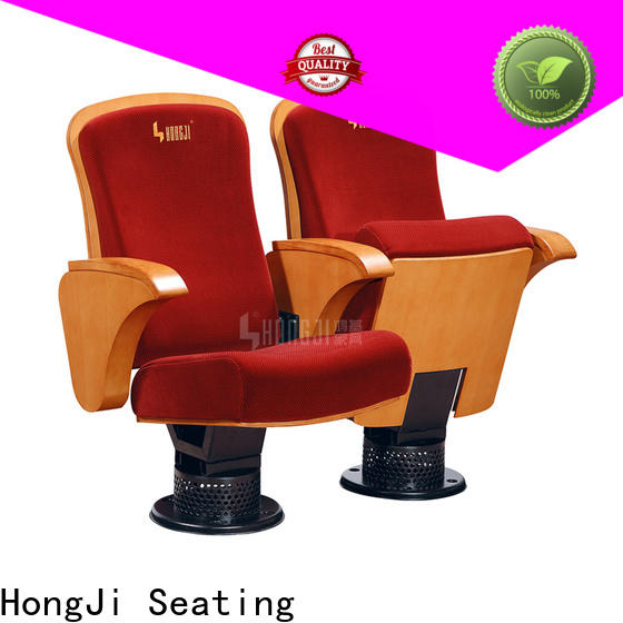 HONGJI fabric theater seating factory for cinema