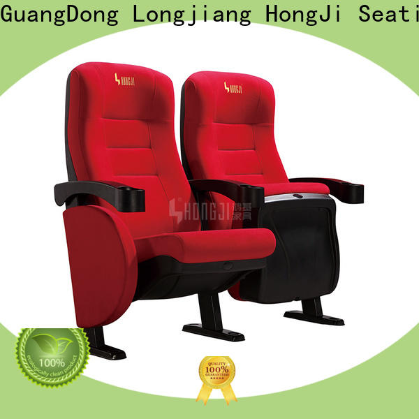 HONGJI exquisite home theater seating directly factory price for importer
