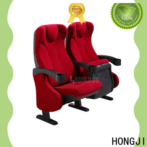 HONGJI fashionable home movie theater seats competitive price for importer