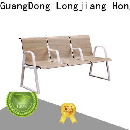 HONGJI h72b3fs reception chairs public seating solution for travel terminal