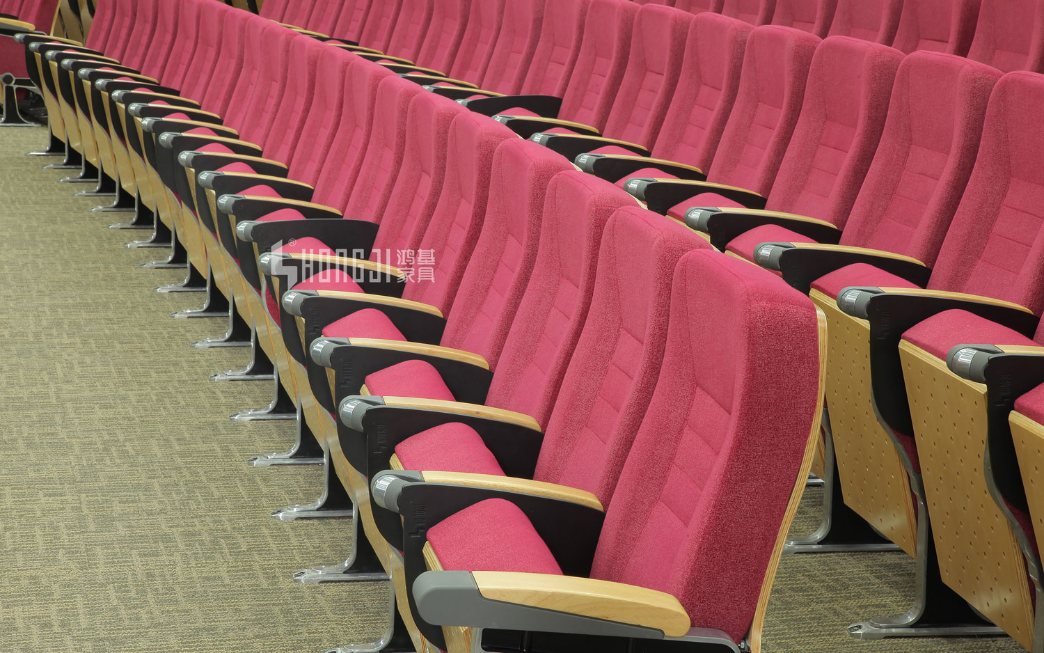 HONGJI outstanding durability 4 piece theater seating supplier for cinema-14