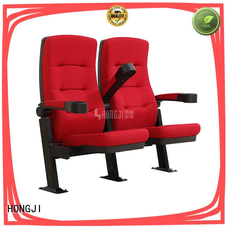 HONGJI elegant cinema seats directly factory price for theater
