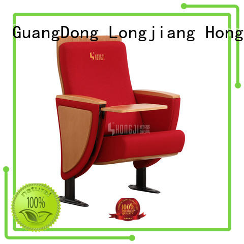 HONGJI newly style auditorium chair manufacturer for cinema