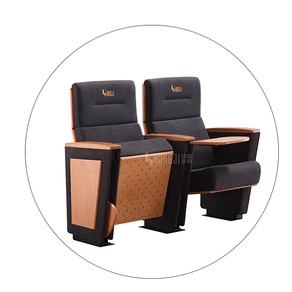 HONGJI real leather theater seating manufacturer for student-5