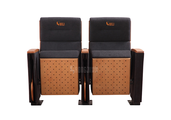 HONGJI real leather theater seating manufacturer for student-9