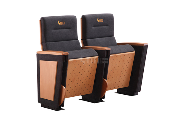 HONGJI real leather theater seating manufacturer for student-10