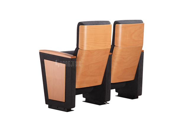 HONGJI real leather theater seating manufacturer for student-11