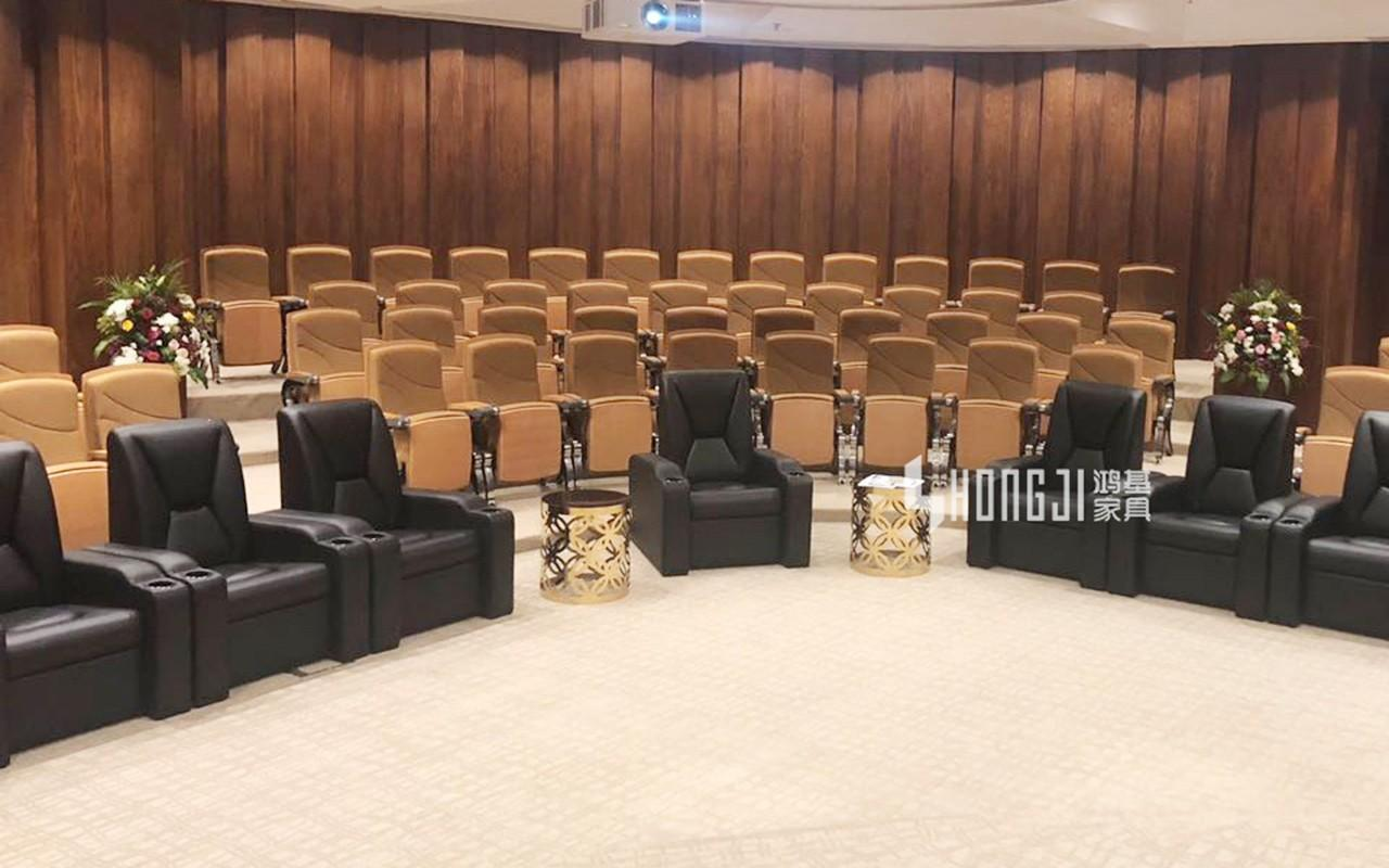 HONGJI real theater seats factory for sale