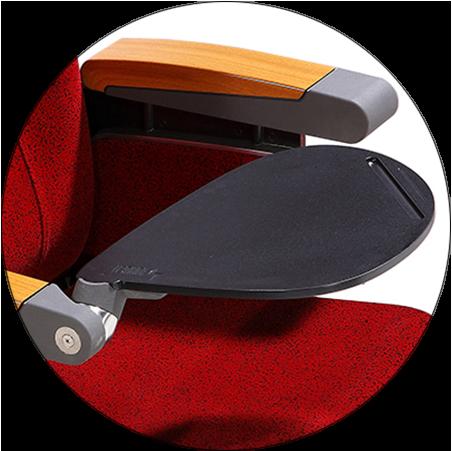 HONGJI elegant lecture hall seating manufacturer for sale-2