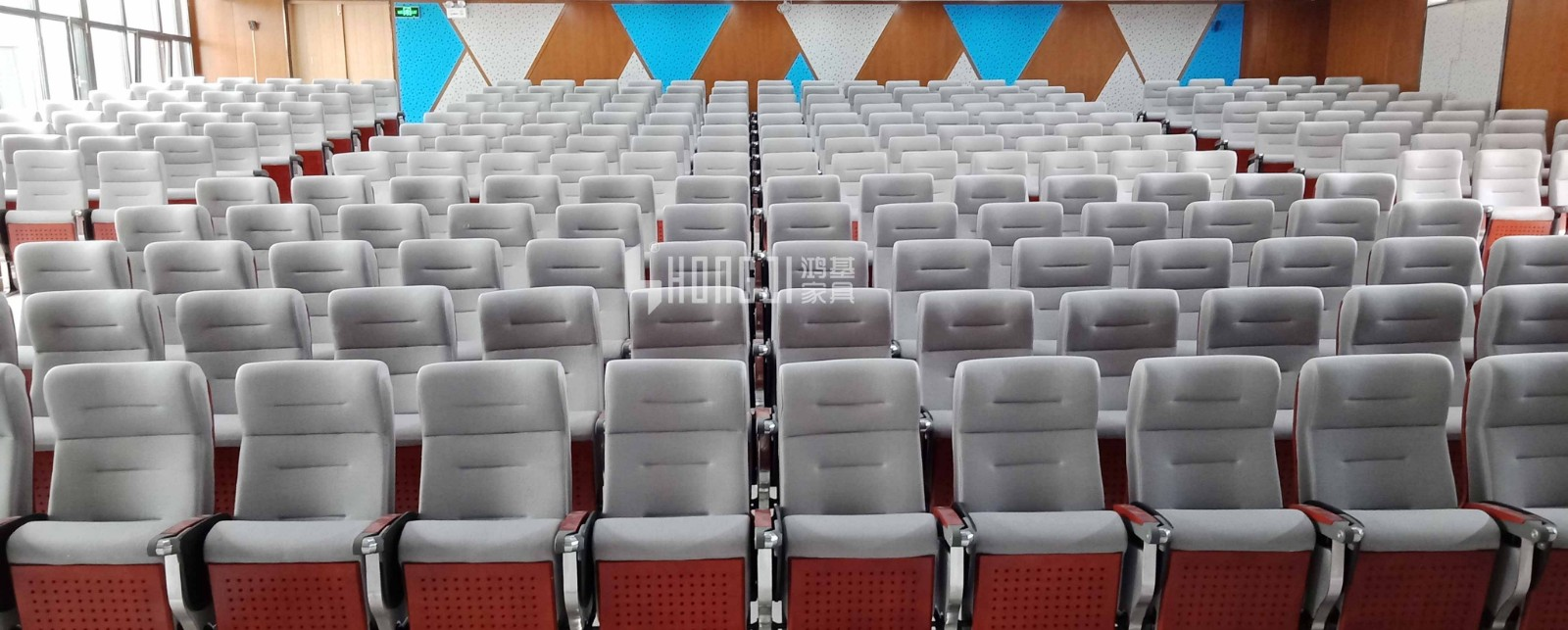 HONGJI outstanding durability 2 seat theater seating factory for sale-12