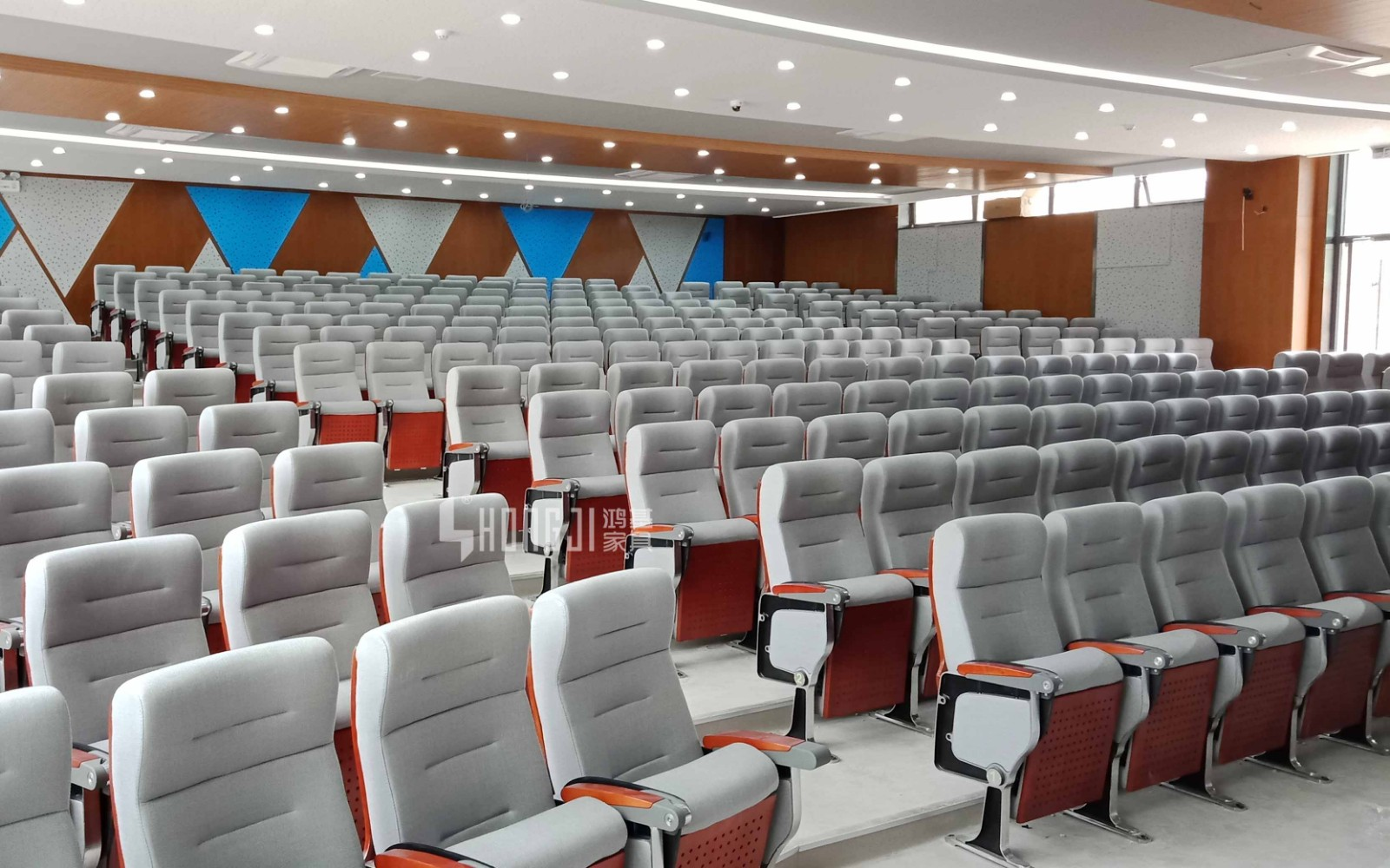 HONGJI outstanding durability 2 seat theater seating factory for sale-13