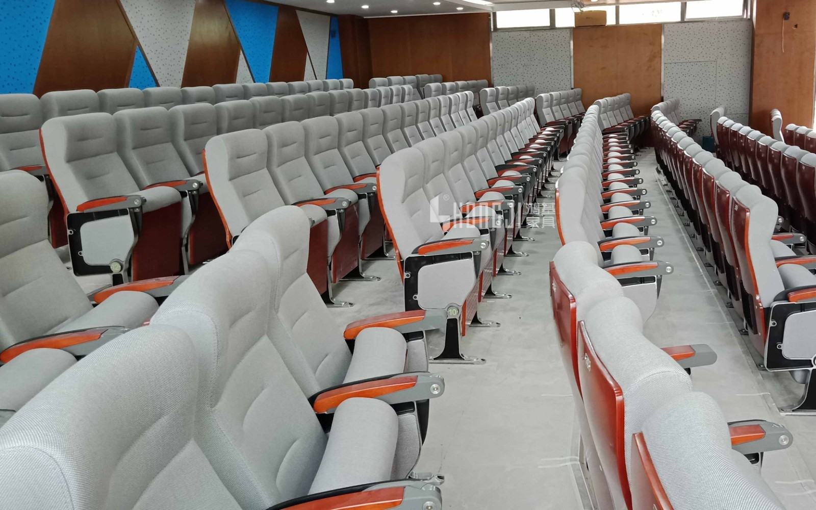 HONGJI outstanding durability 2 seat theater seating factory for sale-14