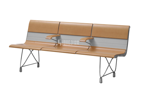 HONGJI h63b4t waiting room bench seating public seating solution for bank-10
