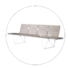 European style waiting room bench h60e3 public seating solution for airport