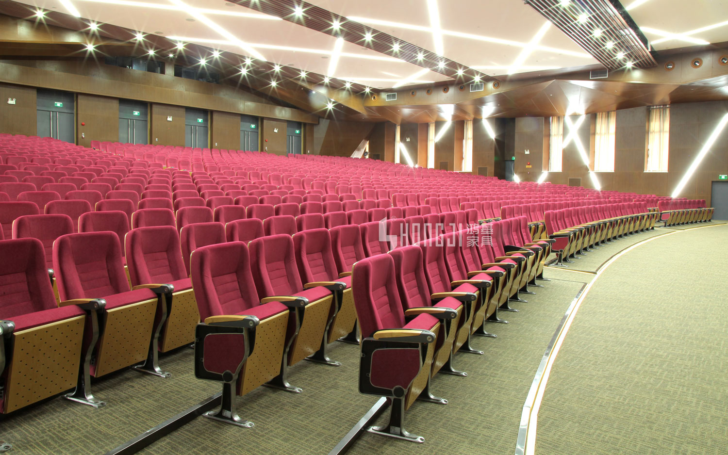 HONGJI outstanding durability 4 piece theater seating supplier for cinema-13