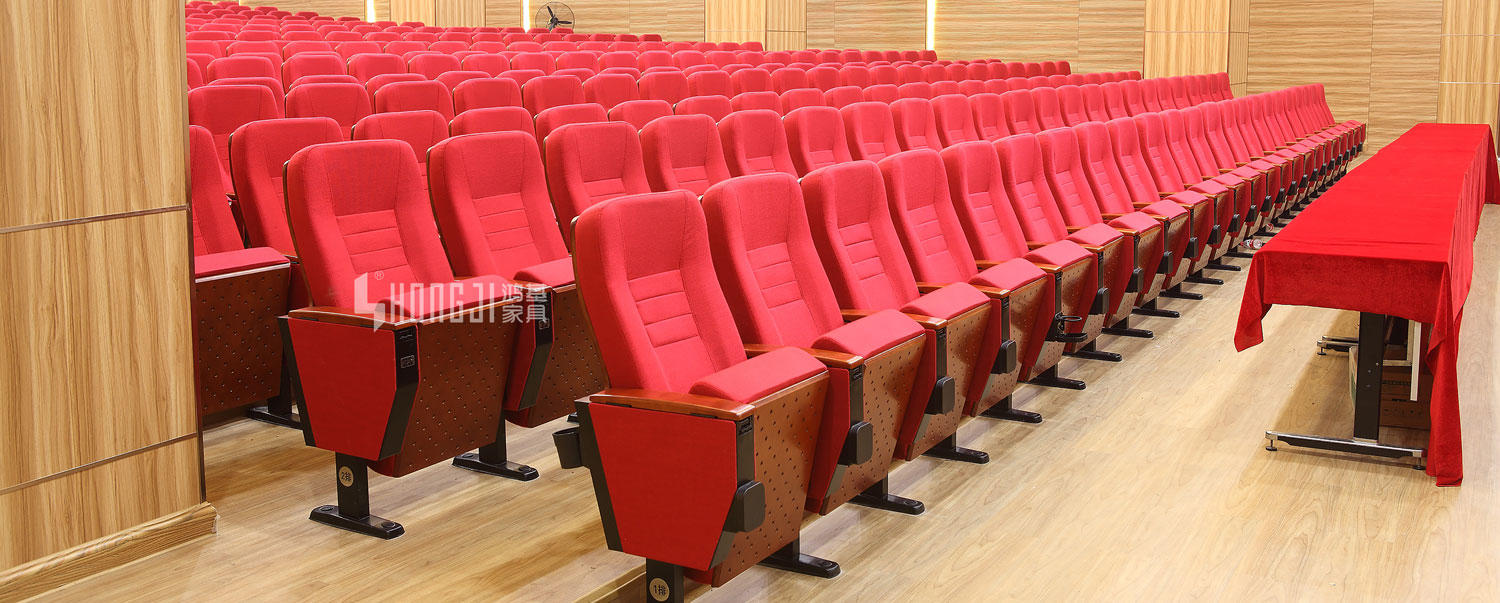Yes folded and commercial theater hall auditorium chair furniture with table HJ68A