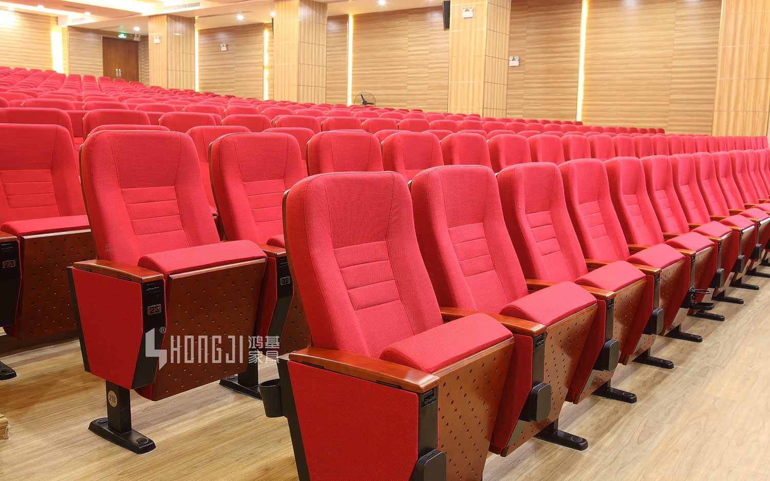 Yes folded and commercial theater hall auditorium chair furniture with table HJ68A-10