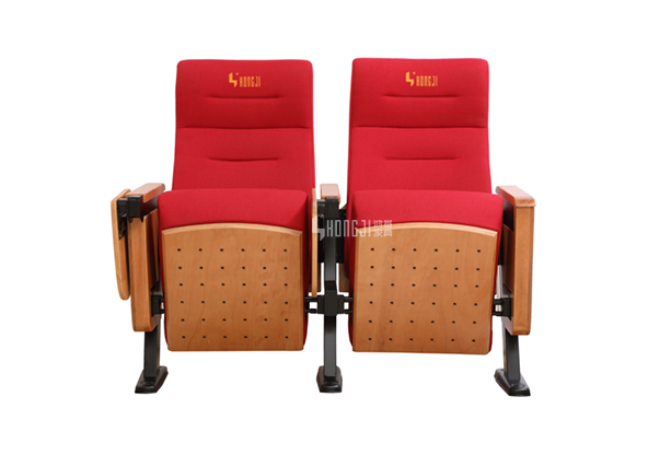 HONGJI excellent leather theater seats manufacturer for university classroom-9